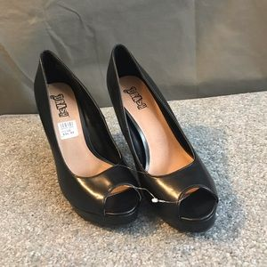 Brash Open Toe Pumps!